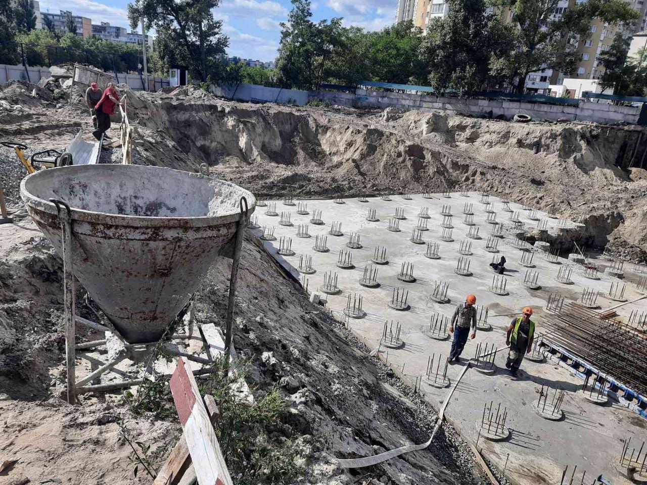 Хід будівництва за вересень 2020